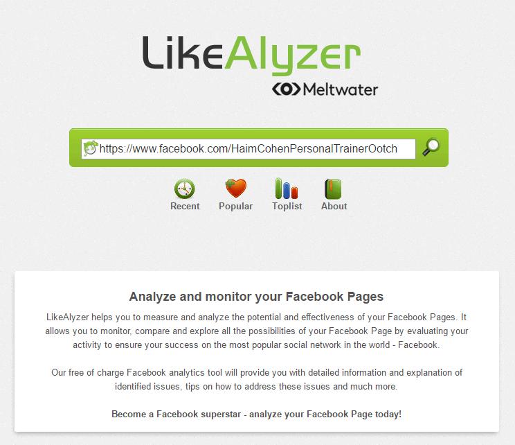 מחקר מתחרים בפייסבוק: לייקלייזר